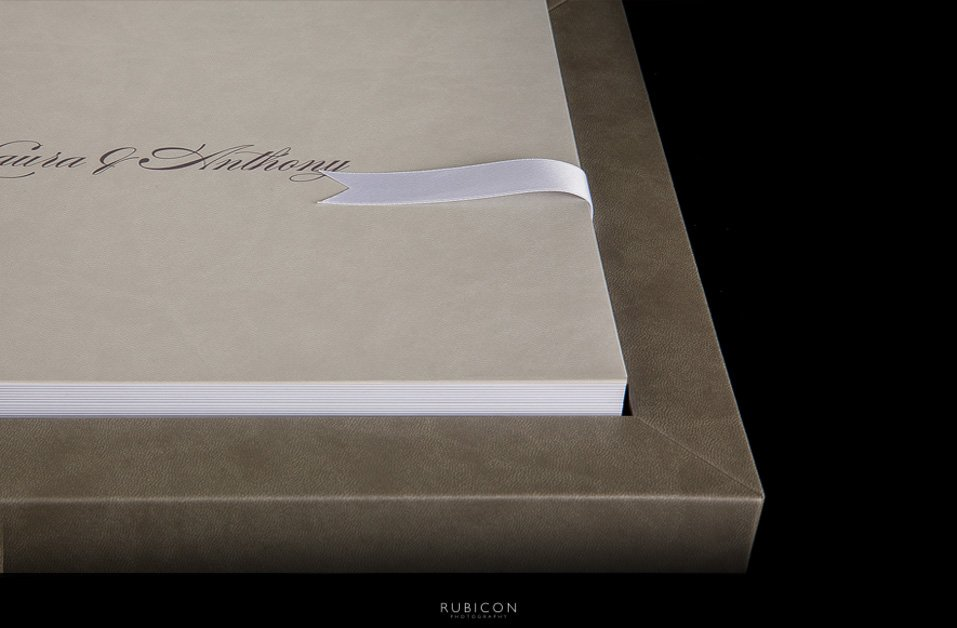 Rubicon Photography Hand Crafted Italian Wedding Albums